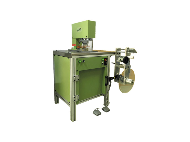 UC-500 Automatic cutting edge ultrasonic welding tape machine