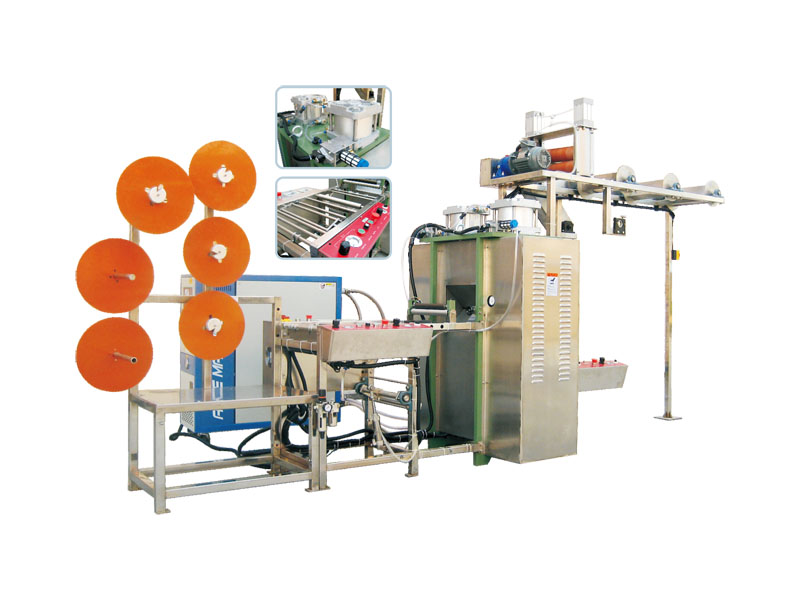 HB-2400 Calendering Machine(For Narrow Tapes)